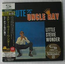 STEVIE WONDER - Tribute To Uncle Ray JAPAN SHM MINI LP CD OBI NEU! UICY-93864