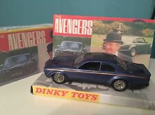 The avengers john destriers jaguar big cat dinky code 3 boxed.