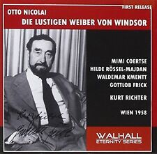 Otto Nicolai: The Merry Wives of Windsor (1958) Kurt Richter Gottlob Frick, 2CD