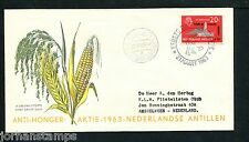 Ned. Antillen FDC E23_ 4M, met adres, Curacao Luchthaven ;