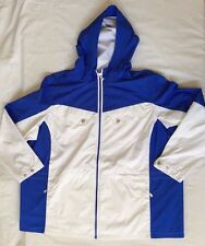 NWT Women's Polo Ralph Lauren Active Jacket Full Zip Royal Blue White - 3XLarge