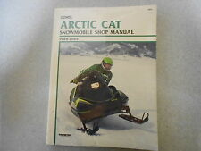 Clymer Snowmobile Artic Cat 1988 - 1989 Shop manual Reparaturanleitung