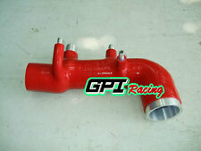 SUBARU IMPREZA WRX STi GC8 1998 1999 2000 SILICONE INLET INDUCTION PIPE/HOSE,RED