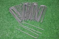 100 SOD STAPLES for Underground DOG FENCE Installation Fabric Pins Landscape NEW