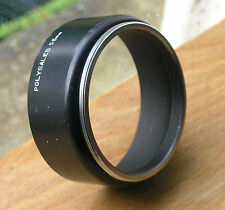 55mm  Lens Hood shade ,plastic front metal mount UK made