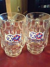 Hacker-Pschorr German Beer Mug / Stein Vintage Set Of Two!