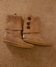 Knitted Ugg boots size 7.5