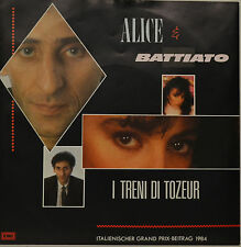 "ALICE - BATTIATO - I TRENI DI TOZEUR Single 7"" (I019)"