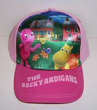 Childs Nick Jr Pink THE BACKYARDIGANS Baseball Style HAT CAP VISOR One Size NEW!