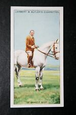 Horse Riding Skills   Incorrect Seat    Original 1930's Vintage Card  VGC
