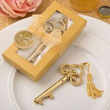 50 - Gold Vintage Skeleton Key Bottle Opener - Wedding Favors