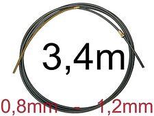Kohle Teflonseele 3m Drahtspirale Drahtseele Drahtführung MIG/MAG 0,8-1,2 mm