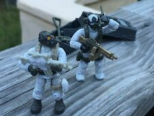 Call of Duty Mega Bloks Alpine Rangers Special Forces 06823 Figures #2 & 3