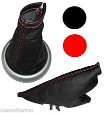 Soufflet de frein à main levier vitesse c. rouge en cuir pour pour Mini Cooper