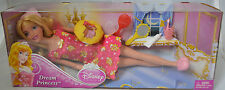 Disney sleeping beauty dream princess barbie doll & bedtime accessories Mattel