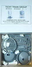 Tichy Train Group #7012 (HO Scale) 100,000 or 125,000-Gallon Steel Water Tank --