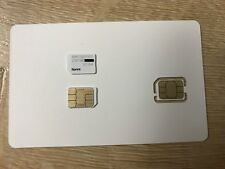 New Sprint NANO SIM Card for iPhone 5c, iPhone 5s, iPhone 6 & 6+ and more
