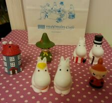 Moomin Family 5.5-6 cm Plastic Figure 7 pcs set Special Edition at Moomin Cafe