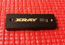 XRAY T3 T4 30g CENTER CHASSIS BALANCING WEIGHT BLACK RC CAR XR-309854