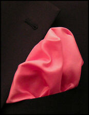 "Classic White Silk Pocket Square - Full Sized 16""x16"" - 30 Colors - Royal Silk®"