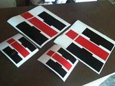 4 Pack HD INTERNATIONAL HARVESTER DECAL STICKER DIESEL  SCOUT TRACTOR