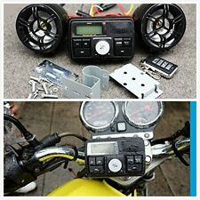 Universe Waterproof Motorcycle Audio FM MP3 USB  Radio Sound System with Speaker
