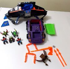 Z-Bots by Galoob Micromachines Lot includes Fang Fighter Tank  9 figures