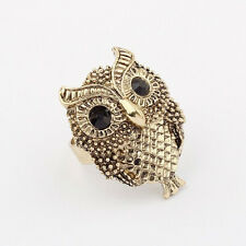 Adjustable Ring Women Owl Retro fashion  Jewelry Finger Hand Ring