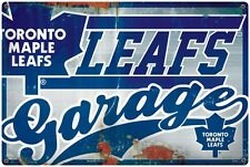 NHL TORONTO MAPLE LEAFS GARAGE SIGN