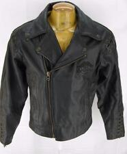 Mens Harley Davidson Motorcycle Biker Leather Jacket M Medium 42