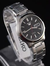 SEIKO 5 SNK795 Stainless Steel Band Automatic Men's Black Watch SNK795K1 New