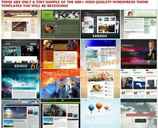 600+ Premium WordPress Themes Templates + 900 Landing Pages - cd
