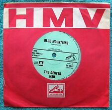 THE DENVER MEN-Night Rider/Blue Mountains-MEGA RARE-MINT-1963 OZ PROG. SURF ROCK