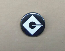 "Despicable Me Villain Gru Logo Button 1.25"" Repro Minions"
