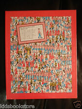 Where's Wally Jigsaw: WHERE'S WALLY? 80 PIECE JIGSAW - NEW