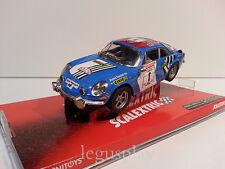 """Slot SCX Scalextric 6450 Renault Alpine A110 """"Elf"""" Tour de Corse Nº1"""