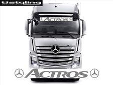 1 x MERCEDES ACTROS LKW Aufkleber fur die Frontscheibe - Truck Stickers - Decals