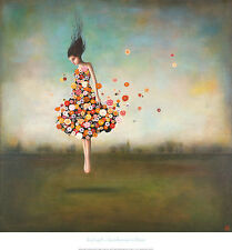 Duy Huynh Boundlessness In Bloom flowers fantasy dancer fine art print poster