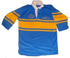 Laugharne según RFC (Gales occidental) N ° 10 Match Worn Rugby Jersey 42 a 44 ""