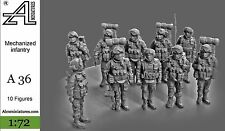 A36 Alexminiatures 1/72 Mechanized infantry model Gusev