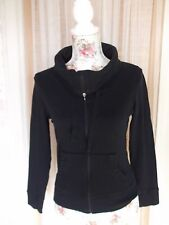 Marks & Spencer Size 10 Ladies Black Cotton Casual Sports Jacket