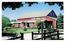 Hickory Bridge Farm Postcard Ortanna Pennsylvania Red Barn Bed and Breakfast