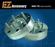 "2 Wheel Adapters 4 Lug 100 To 5 Lug 4.5 Spacers 4x100/5x4.5 1.75"""