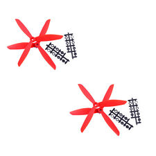 4pcs 3-Blade 8045 Nylon Propeller L/R CW CCW for F450 Y3 H4 RC Multi Red