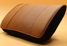 Memory Foam Genuine Leather Lumbar Support Seat Cushion Pillow Home Office Car