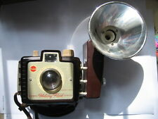 Vintage Eastman Kodak Brownie Holiday Flash Camera with Flash Attachment