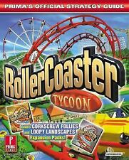 RollerCoaster Tycoon: Prima's Official Strategy Guide by Brady, Matthew