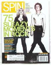 SPIN MAGAZINE 75 SLEAZY MOMENTS IN ROCK RARE JUNE 2003