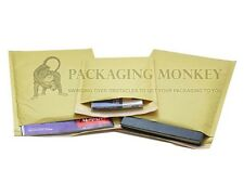 GOLD & WHITE BUBBLE PADDED ENVELOPES MAILERS BAGS *ALL SIZES*