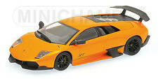 Minichamps 1/43 LAMBORGHINI MURCIELAGO LP 670-4 SV - 2009 - ORANGE METALLIC
